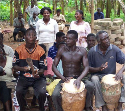 High Quality The Drumming Of Traditional Ashanti Healing Ceremonies