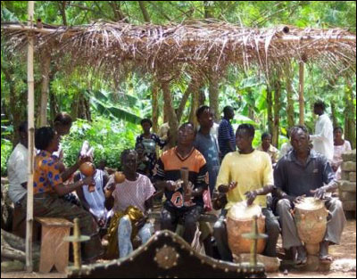 The Drumming Of Traditional Ashanti Healing Ceremonies