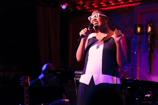Cécile McLorin Salvant and Aaron Diehl. Photograph by Matthew Lomanno.